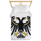 Eagle Tyrol With Two Heads Twin Duvet