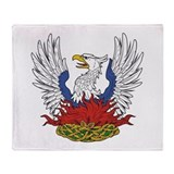 Eagle Phoenix 2 Throw Blanket