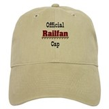 Official Railfan Baseball Cap Baseball Cap