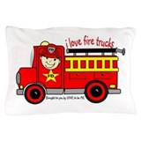 FIRE TRUCK - LOVE TO BE ME Pillow Case
