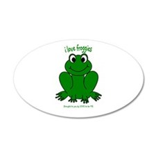FROGGIE Wall Decal