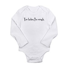 Cute Hysterical Long Sleeve Infant Bodysuit