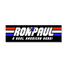 Ron Paul G.I. Car Magnet 10 x 3 (Black)