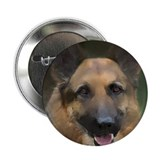 German sheperd 2.25&quot; Button (10 pack)