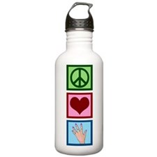 Peace Love Manicure Water Bottle