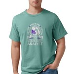 The Angry Crab Saloon Organic Men's Fitted T-Shirt