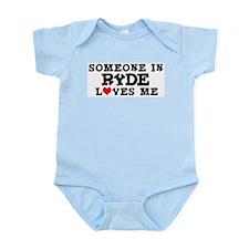 Ryde: Loves Me Infant Creeper
