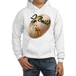 I Build Hooded Sweatshirt