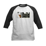 I Build Kids Baseball Jersey