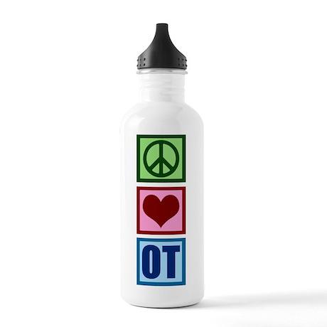 Peace Love OT Stainless Water Bottle 1.0L