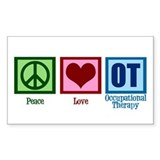 Peace Love OT Decal