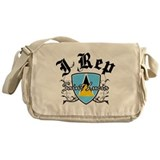 I Rep Saint Lucia Messenger Bag