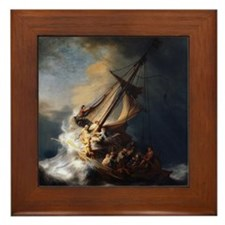 Rembrandt The Storm on the Sea of Galilee Framed T