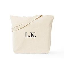 Initials Tote Bag