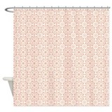 Amara Salmon Shower Curtain