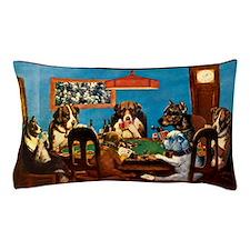 A friend in need Poker Pillow Case