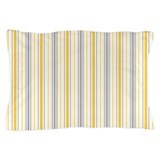 Amara Stripe Amber Pillow Case