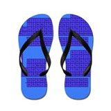 Periodic Table Blue Flip Flops