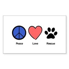 Cute Peace love Decal