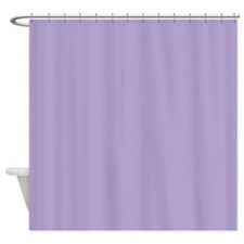 Amara plain lavender Shower Curtain