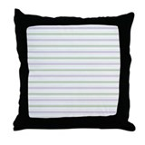 Amara Stripe Lavender Throw Pillow