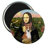 Mona Lisa - Basenji Magnet
