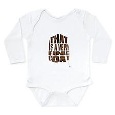 fine coat Long Sleeve Infant Bodysuit