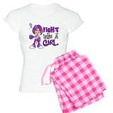 Fight Like a Girl 42.8 Sarcoidosis pajamas