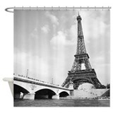Eiffel Shower Curtains