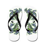 2012 Water Dragon Flip Flops