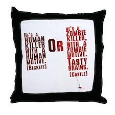 Killer Throw Pillow