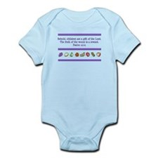 Psalm 127:3 Infant Bodysuit