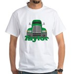 Trucker Taylor White T-Shirt