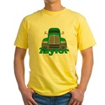 Trucker Taylor Yellow T-Shirt
