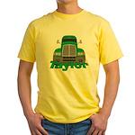 Trucker Taylor Yellow T-Shirt