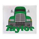 Trucker Taylor Throw Blanket