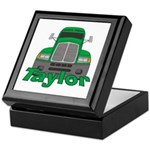 Trucker Taylor Keepsake Box