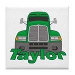 Trucker Taylor Tile Coaster