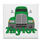 Trucker Taylor Tile Coaster
