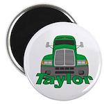 Trucker Taylor Magnet