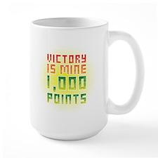 Victory is mine Large Mug