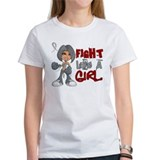 Fight Like a Girl 42.8 Parkinson's Disease Tee