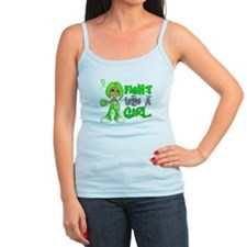 Fight Like a Girl 42.8 Non-Hodgkin's Lymphoma Ladies Top