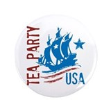 "Tea PartyUSA.png 3.5"" Button"