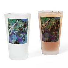 Edgar Degas Blue Dancers Drinking Glass