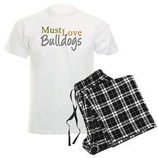 MUST LOVE Bulldogs Pajamas