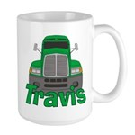 Trucker Travis Large Mug