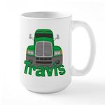 Trucker Travis Large Mug