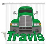 Trucker Travis Shower Curtain