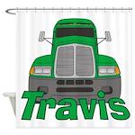 Trucker Travis Shower Curtain